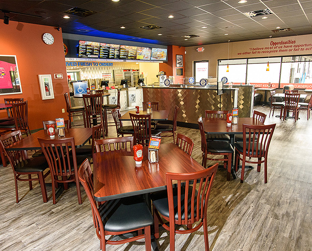 This Is A Great Place For Casual Family Dinner Just Order Your Food At The Counter Take Pager And Pick Up Window When It